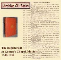 London Parish Registers: St George's Chapel, Mayfair 1740-1754