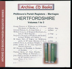 Hertfordshire Phillimore Parish Registers (Marriages) Volumes 1-3