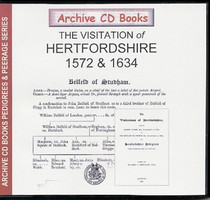Visitations of Hertfordshire 1572 and 1634