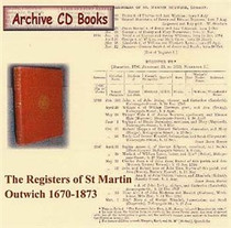 London Parish Registers: St Martin Outwich 1670-1873