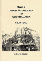Ships from Scotland to Australasia 1820-1860