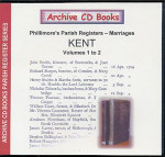 Kent Phillimore Parish Registers (Marriages) Volumes 1-2