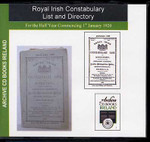 Royal Irish Constabulary List and Directory 1920