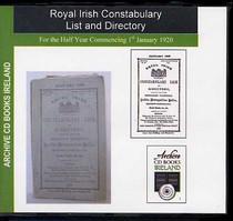 Royal Irish Constabulary List and Directory 1920