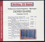 Derbyshire Phillimore Parish Registers (Marriages) Volumes 1-15