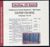 Derbyshire Phillimore Parish Registers (Marriages) Volumes 1-15