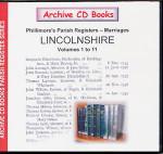 Lincolnshire Phillimore's Parish Registers (Marriages) Volumes 1-11