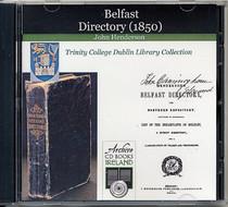 Belfast 1850 Henderson's Directory