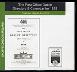 Dublin 1858 Post Office Directory