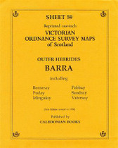 Scottish Victorian Ordnance Survey Map No. 59 Barra