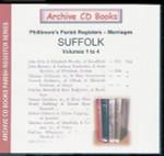 Suffolk Phillimore's Parish Registers (Marriages) Volumes 1-4