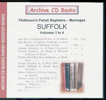 Suffolk Phillimore's Parish Registers (Marriages) Volumes 1-4