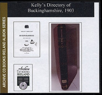 Buckinghamshire 1903 Kelly's Directory