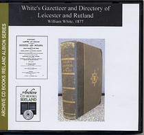 Leicester and Rutland 1877 White's Gazetteer and Directory