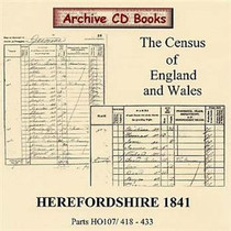 Herefordshire 1841 Census