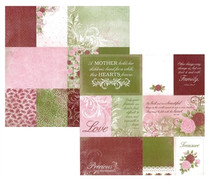 Kaisercraft 12x12 English Rose Charlotte
