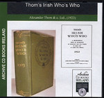 Thom's Irish Who's Who 1923