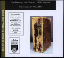 Nottingham 1844 White's Directory and Gazetteer