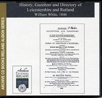 Leicestershire and Rutland 1846 White's History, Gazetteer and Directory
