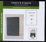 Ireland and England: In the Past and at Present
