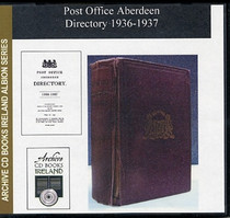 Aberdeen 1936-37 Post Office Directory