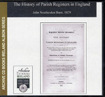 The History of Parish Registers in England 1
