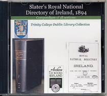 Ireland 1894 Slater's National Directory: Compendium of All Sections