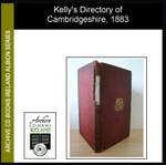 Cambridgeshire 1883 Kelly's Directory