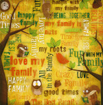 Karen Foster 12x12 Kids Ancestry Family Fun Collage