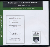 Dublin Parish Registers: Dublin (St Nicholas Without) 1694-1739