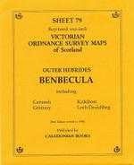 Scottish Victorian Ordnance Survey Map No. 79 Benbecula