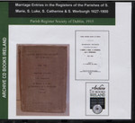Dublin Parish Registers: Dublin (St Marie, St Luke, St Catherine and St Werburgh) 1627-1800