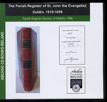 Dublin Parish Registers: Dublin (St John the Evangelist) 1619-1699
