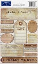 Karen Foster Sticker Ancestry Journaling