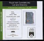 Royal Irish Constabulary List and Directory 1889