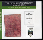 Royal Irish Constabulary Manual 1909