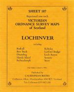 Scottish Victorian Ordnance Survey Map No. 107 Lochinvar