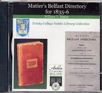 Belfast 1835-6 Matier's Directory
