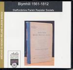 Staffordshire Parish Registers: Blymhill 1561-1812 1