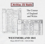Westmorland 1841 Census