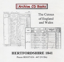 Hertfordshire 1841 Census