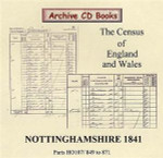 Nottinghamshire 1841 Census