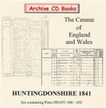 Huntingdonshire 1841 Census