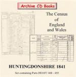 Huntingdonshire 1841 Census