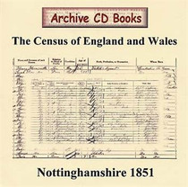 Nottinghamshire 1851 Census