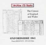 Oxfordshire 1841 Census