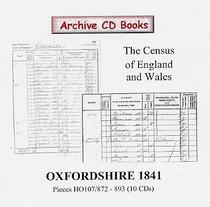 Oxfordshire 1841 Census