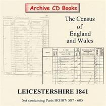 Leicestershire 1841 Census