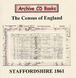 Staffordshire 1861 Census