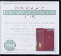 New Zealand Post Office Directory 1905 (Wise)